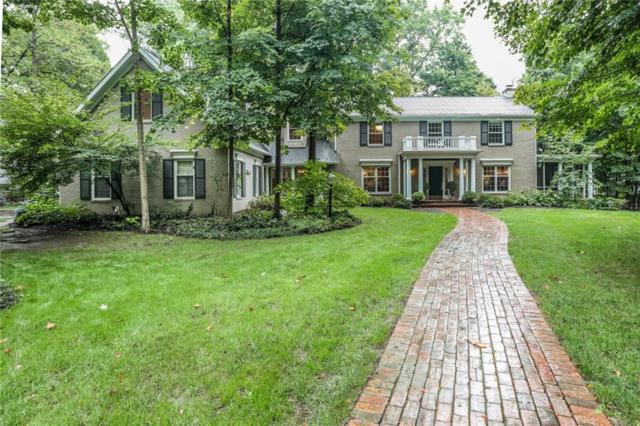 8888 Pickwick Drive, Indianapolis, IN 46260 (MLS #21592824) :: Mike Price Realty Team - RE/MAX Centerstone