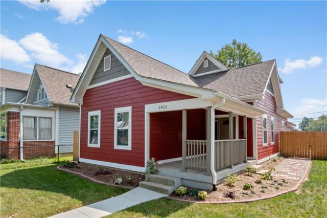1411 Woodlawn Avenue, Indianapolis, IN 46203 (MLS #21592950) :: Mike Price Realty Team - RE/MAX Centerstone