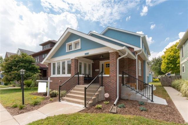 2430 N Delaware Street, Indianapolis, IN 46205 (MLS #21593519) :: The Evelo Team