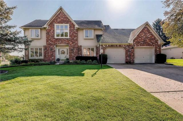 828 Pebble Brook Place, Noblesville, IN 46062 (MLS #21596081) :: The Evelo Team