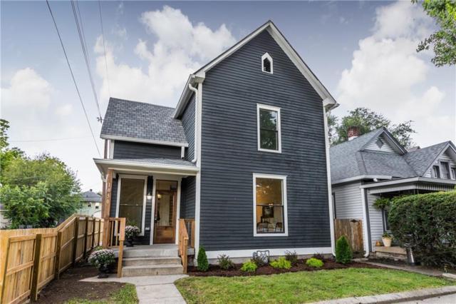 1050 Villa Avenue, Indianapolis, IN 46203 (MLS #21598039) :: AR/haus Group Realty