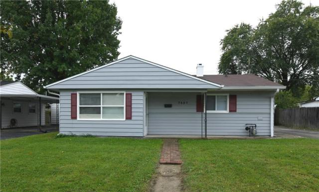 7337 Twin Beech Drive, Lawrence, IN 46226 (MLS #21599045) :: The Evelo Team