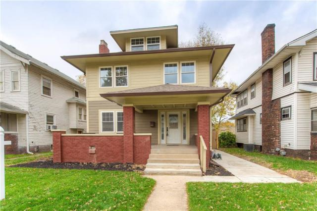3828 Carrollton Avenue, Indianapolis, IN 46205 (MLS #21604111) :: AR/haus Group Realty
