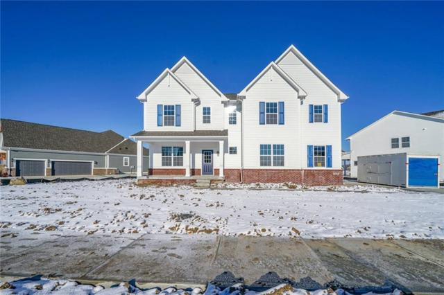 11050 Portage Woods Drive, Fishers, IN 46040 (MLS #21607392) :: Richwine Elite Group
