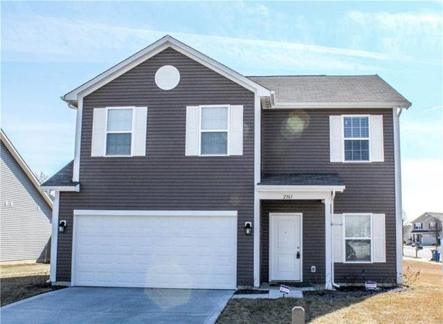 2361 Silver Spur Drive, Greenfield, IN 46140 (MLS #21614951) :: Mike Price Realty Team - RE/MAX Centerstone