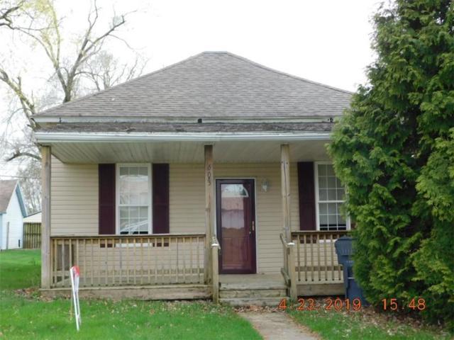 603 E Harris Street, Eaton, IN 47338 (MLS #21615501) :: The ORR Home Selling Team