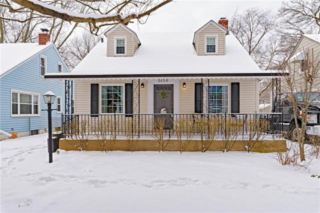 5116 N Evanston Avenue, Indianapolis, IN 46205 (MLS #21616916) :: The ORR Home Selling Team