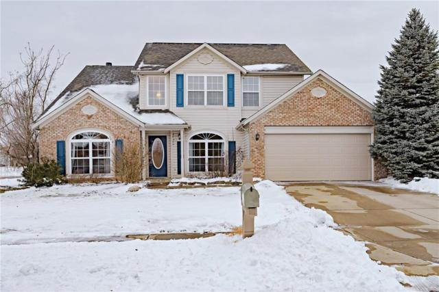 14016 Meadow Lake Drive, Fishers, IN 46038 (MLS #21617250) :: The ORR Home Selling Team