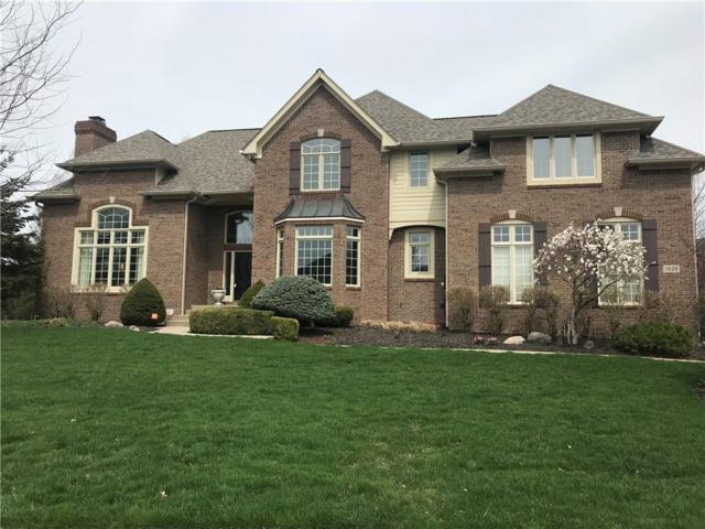 1028 W Princeton Gate, Carmel, IN 46032 (MLS #21618273) :: Mike Price Realty Team - RE/MAX Centerstone