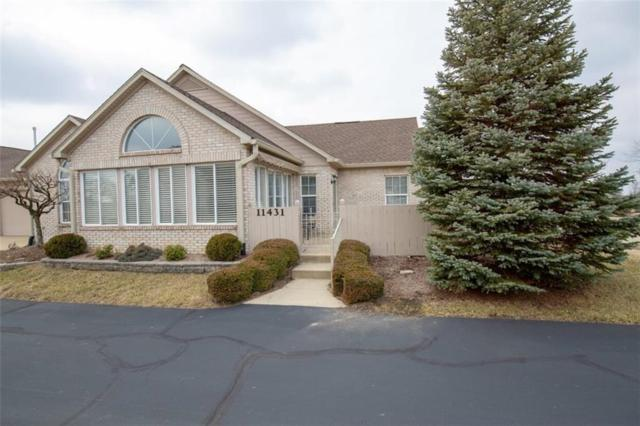 11431 Winding Wood Drive #29, Indianapolis, IN 46235 (MLS #21618502) :: Mike Price Realty Team - RE/MAX Centerstone