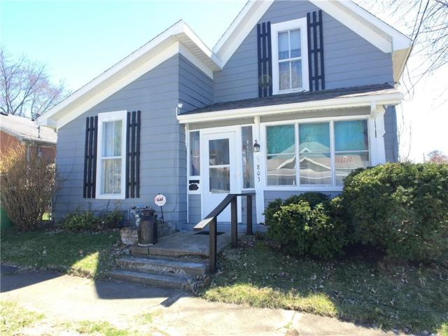 803 Vine Street, New Castle, IN 47362 (MLS #21619250) :: Mike Price Realty Team - RE/MAX Centerstone