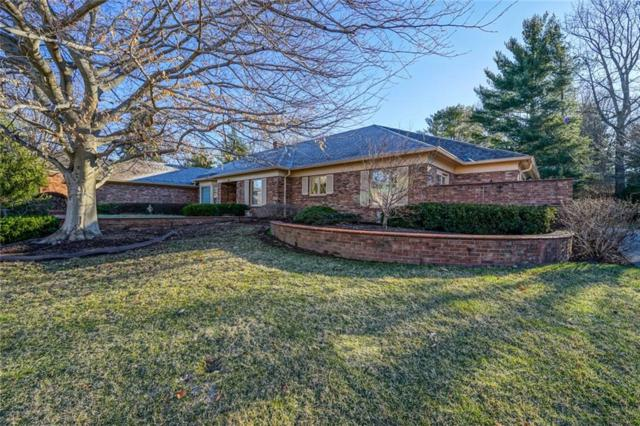 7949 Beaumont Green East Drive, Indianapolis, IN 46250 (MLS #21623336) :: David Brenton's Team