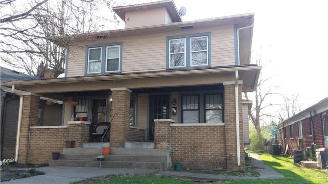 810 N Euclid Avenue N, Indianapolis, IN 46201 (MLS #21628387) :: Richwine Elite Group