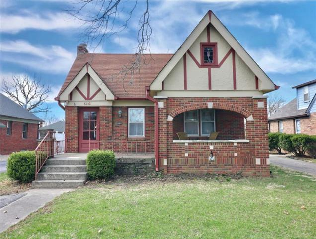 6061 E 10th Street, Indianapolis, IN 46219 (MLS #21630951) :: Mike Price Realty Team - RE/MAX Centerstone