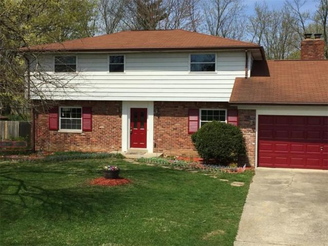 2210 Woodcrest Road, Indianapolis, IN 46227 (MLS #21631445) :: Richwine Elite Group