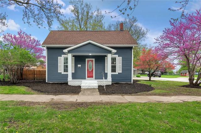411 W Main Street, Thorntown, IN 46071 (MLS #21636568) :: The Indy Property Source