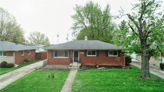 5537 Maplewood Drive, Speedway, IN 46224 (MLS #21637283) :: Mike Price Realty Team - RE/MAX Centerstone