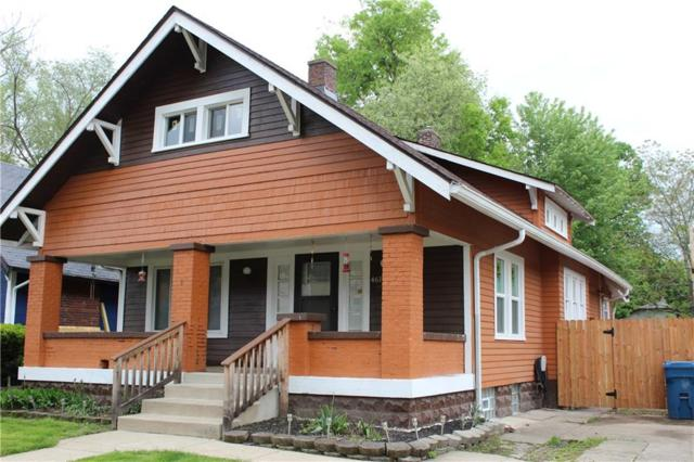4617 Guilford Avenue, Indianapolis, IN 46205 (MLS #21637475) :: The Indy Property Source