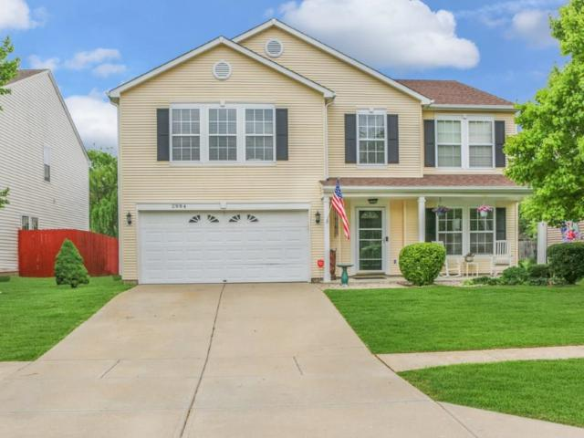 2984 Sentiment Lane, Greenwood, IN 46143 (MLS #21637940) :: HergGroup Indianapolis