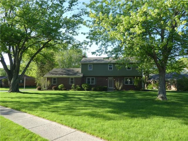 10816 W Lakeshore Drive, Carmel, IN 46033 (MLS #21638849) :: The Indy Property Source