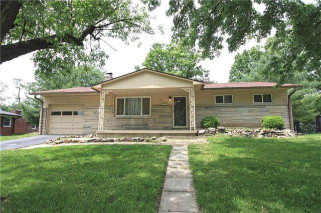 421 Brewer Drive, Greenwood, IN 46142 (MLS #21640955) :: David Brenton's Team