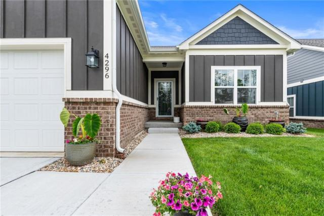 4296 W Hidden Preserve Cove, New Palestine, IN 46163 (MLS #21642497) :: The Indy Property Source