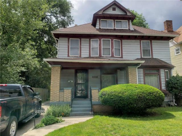 2226 N Capitol Avenue, Indianapolis, IN 46208 (MLS #21644968) :: Ferris Property Group