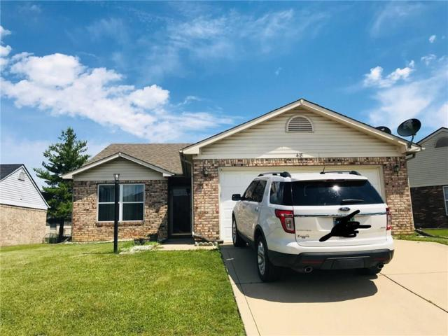 418 Polk Manor Drive, Greenwood, IN 46143 (MLS #21646661) :: Mike Price Realty Team - RE/MAX Centerstone