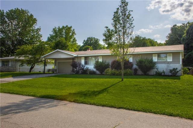 3330 NW Willowbrook Drive, Martinsville, IN 46151 (MLS #21646706) :: David Brenton's Team