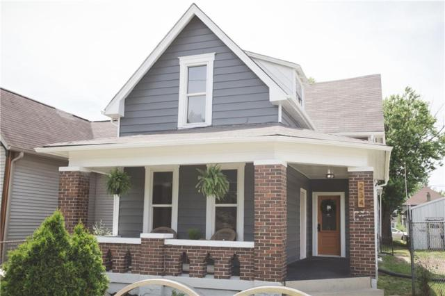 234 S State Avenue, Indianapolis, IN 46201 (MLS #21647314) :: Mike Price Realty Team - RE/MAX Centerstone