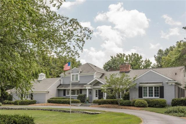 9510 Copley Dr, Indianapolis, IN 46260 (MLS #21655950) :: Richwine Elite Group