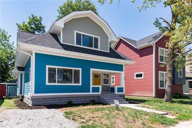 912 N Rural Street, Indianapolis, IN 46201 (MLS #21659451) :: AR/haus Group Realty