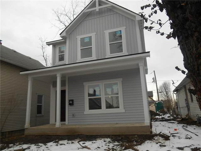 1909 S Talbott Street, Indianapolis, IN 46225 (MLS #21662956) :: The Indy Property Source