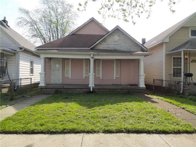 1431 Hiatt Street, Indianapolis, IN 46221 (MLS #21672158) :: The Indy Property Source