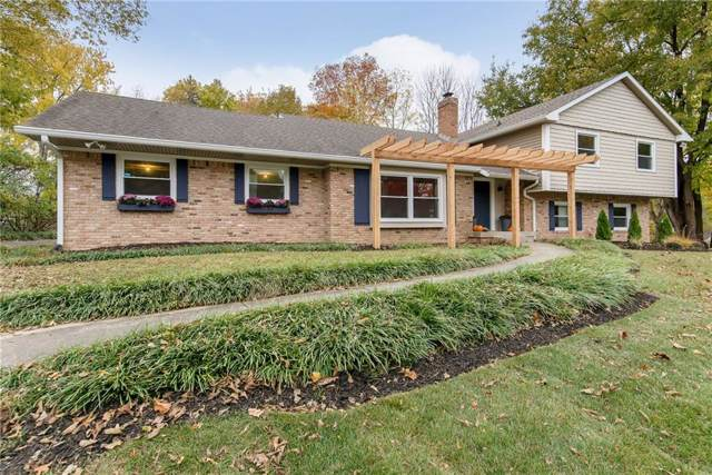 11626 Forest Drive, Carmel, IN 46033 (MLS #21679301) :: David Brenton's Team