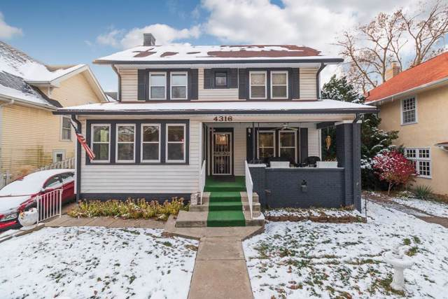 4316 Broadway Street, Indianapolis, IN 46205 (MLS #21681429) :: The Evelo Team