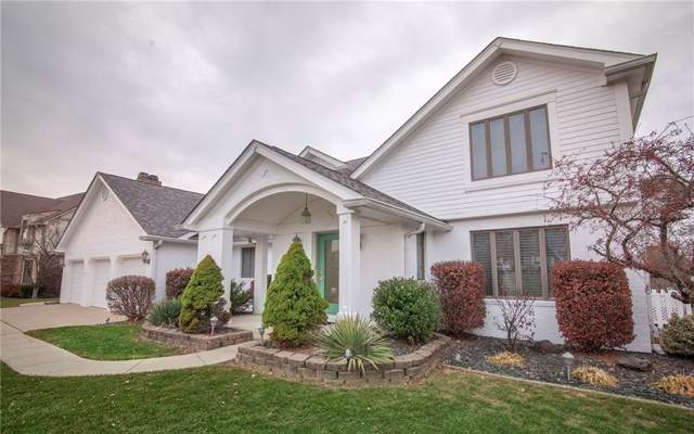 4510 Golfview Drive, Anderson, IN 46011 (MLS #21682090) :: The Indy Property Source