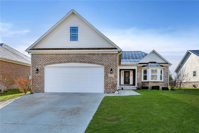 4445 Nottinghill Drive, Avon, IN 46123 (MLS #21683772) :: The Evelo Team