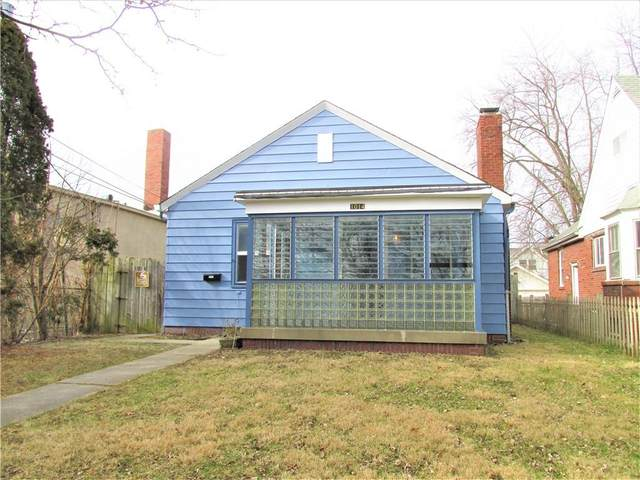1014 N Bosart Avenue, Indianapolis, IN 46201 (MLS #21684531) :: The Indy Property Source