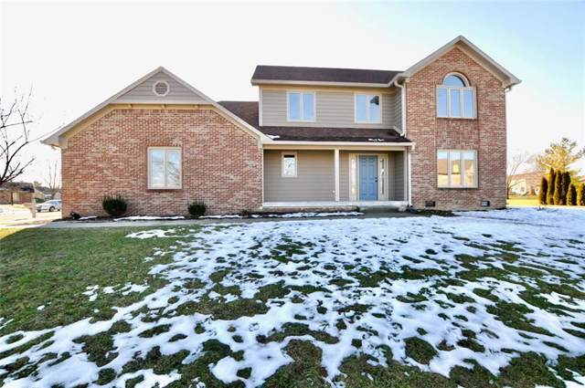 1132 N Cambridge Court, Greenfield, IN 46140 (MLS #21686966) :: The Indy Property Source