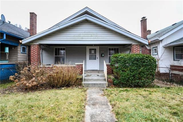 1061 W 36th Street, Indianapolis, IN 46208 (MLS #21689316) :: Mike Price Realty Team - RE/MAX Centerstone