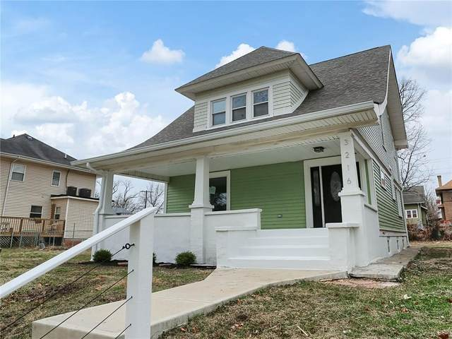 3216 N Park Avenue, Indianapolis, IN 46205 (MLS #21689613) :: The Indy Property Source