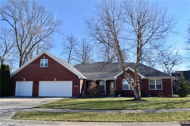 5293 Oakbrook Drive, Plainfield, IN 46168 (MLS #21692777) :: Richwine Elite Group