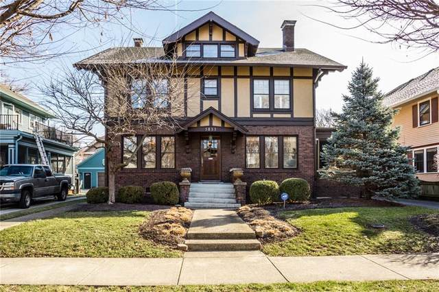 3833 N Delaware Street, Indianapolis, IN 46205 (MLS #21695197) :: Mike Price Realty Team - RE/MAX Centerstone