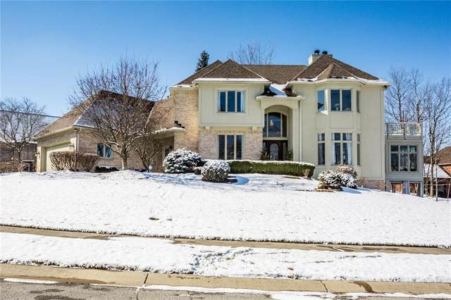 8202 Hunters Place, Indianapolis, IN 46236 (MLS #21695209) :: AR/haus Group Realty