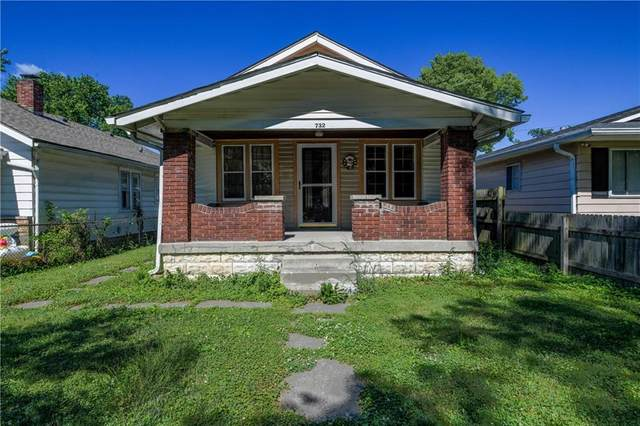 732 N Rochester Avenue, Indianapolis, IN 46222 (MLS #21696132) :: Anthony Robinson & AMR Real Estate Group LLC