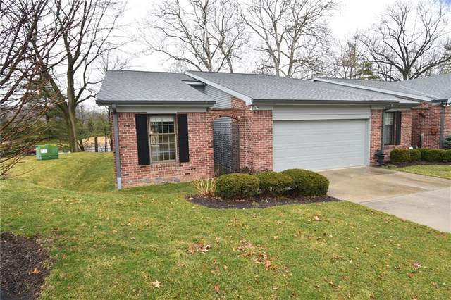 8555 Quail Hollow Road, Indianapolis, IN 46260 (MLS #21696143) :: The ORR Home Selling Team