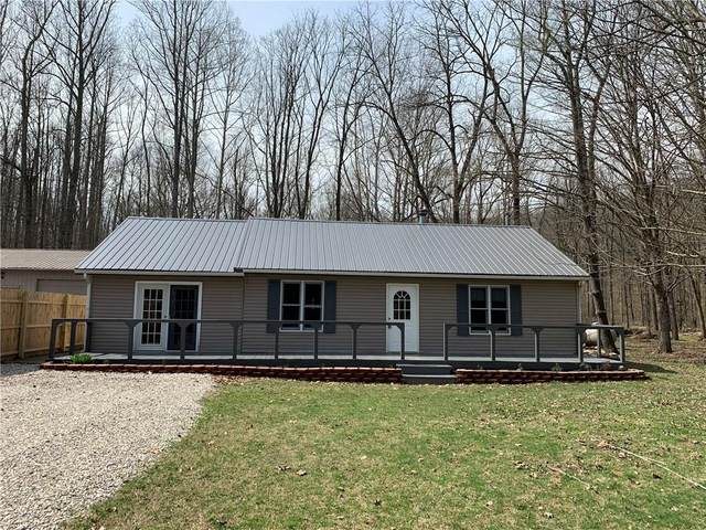 6677 N Shuffle Creek Road, Unionville, IN 47468 (MLS #21697619) :: The Indy Property Source