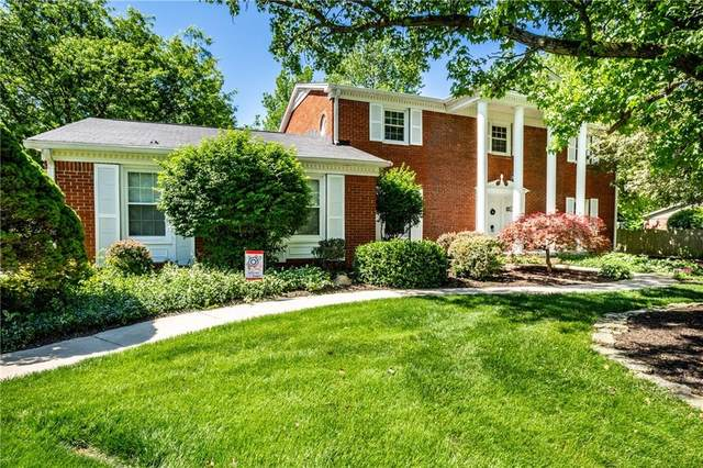 5823 Graham Court, Indianapolis, IN 46250 (MLS #21698164) :: The Indy Property Source