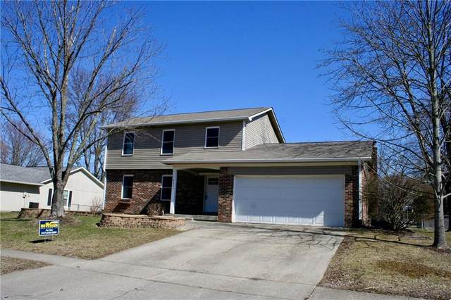 8825 Gunpowder Drive, Indianapolis, IN 46256 (MLS #21699033) :: The ORR Home Selling Team
